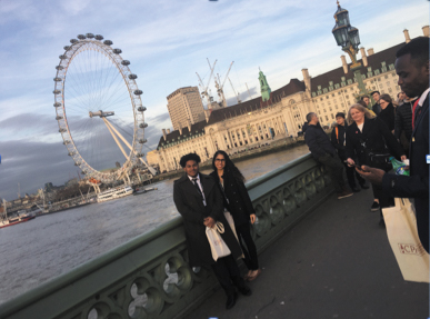 Cayman Students in London for Commonwealth Day