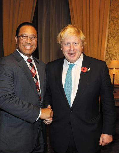 Premier with Mr. Boris Johnson