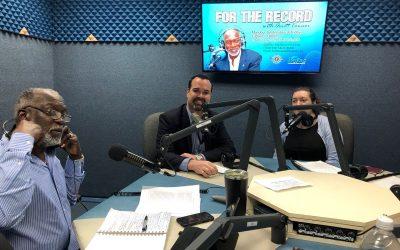 EB Visit to Cayman / meetings, radio station