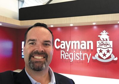 Eric Bush with Cayman Registry
