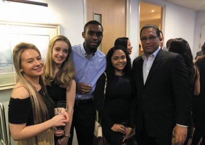 Cayman Students with Premier at Annual Student Reception