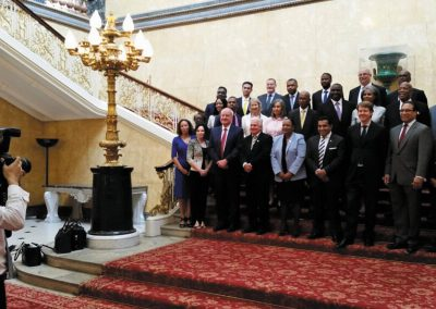The OT delegations at OT-JMC-EN, Lancaster House, July 2017
