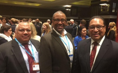 Cayman Delegation Visits Conservative Party Conference