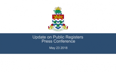 Update on Public Registers Press Conference May 23rd 2018