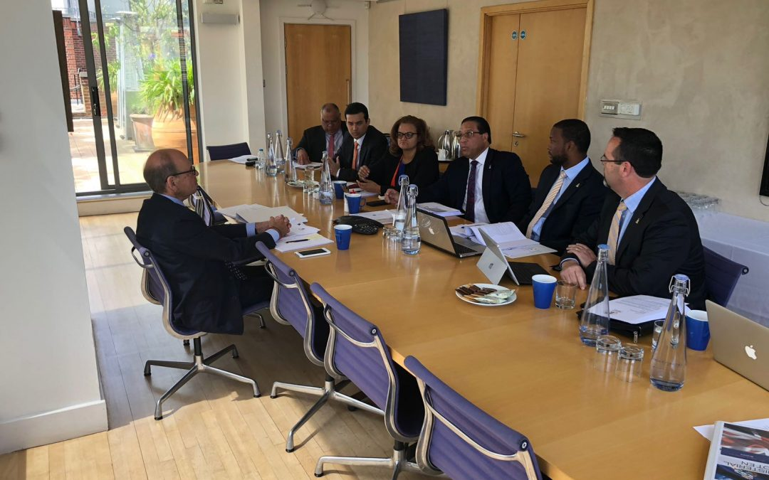 Cayman Delegation meets with Sir Jeffrey Jowell QC and Lord David Pannick QC