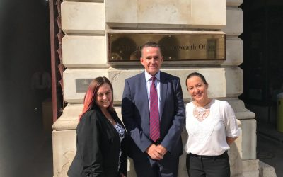 HMCI visits London for meetings with HMG