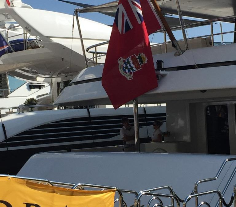 Cayman Islands Delegation visit the Monaco Yacht Show