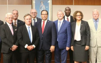 UK MPs Visit to the Cayman Islands
