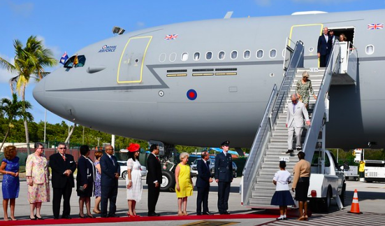 Royal Visit to the Cayman Islands