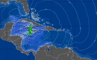 Earthquake and Tsunami Warning in Cayman 2:10pm