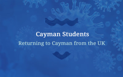 STUDENTS RETURNING TO CAYMAN FROM THE UK