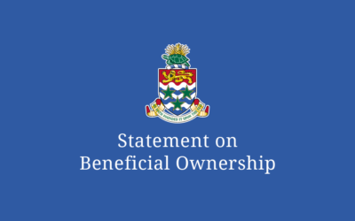 Cayman Islands Government Statement on Beneficial Ownership