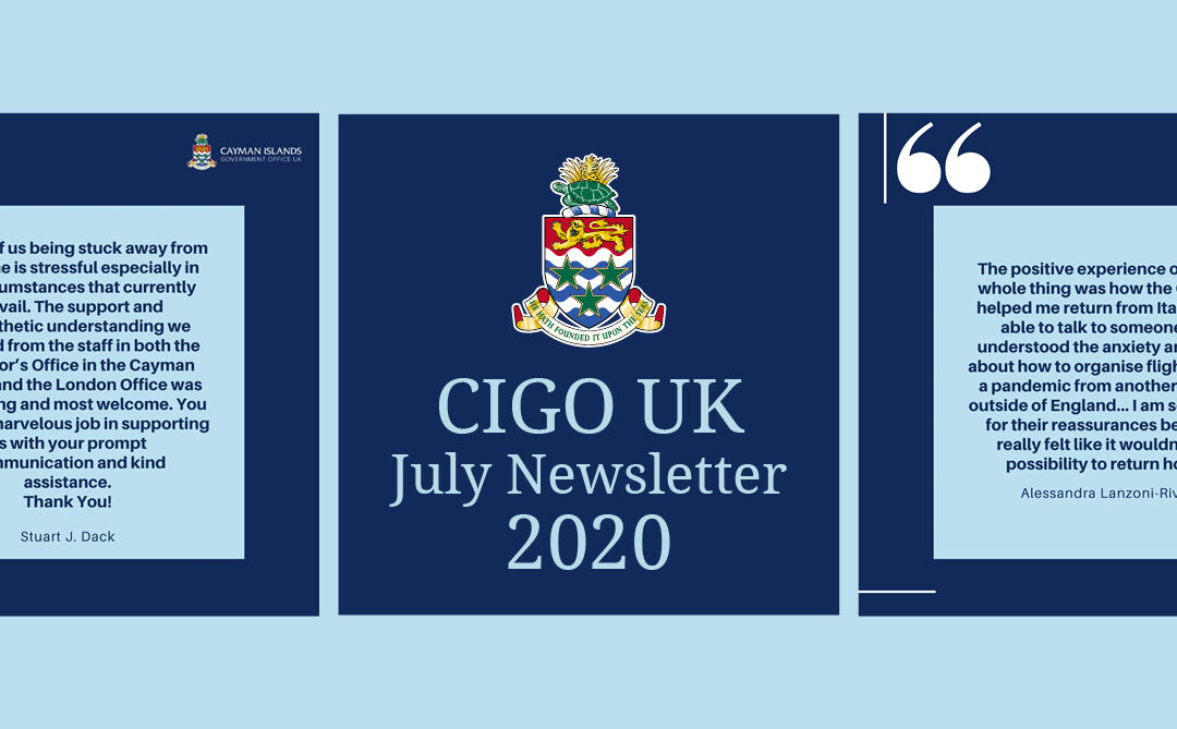CIGO UK July 2020 Newsletter