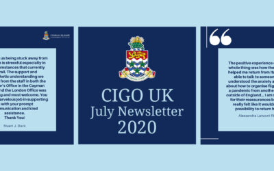 CIGO UK July 2020 Newsletter