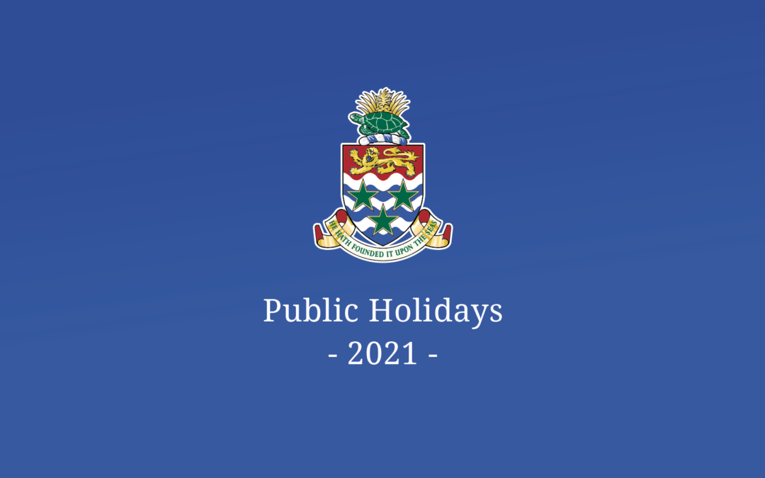 Public Holidays for 2021 Announced