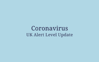 Coronavirus UK Alert Level Update