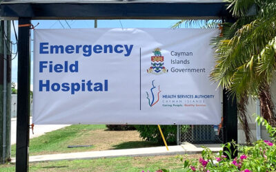 Government Wins National Award for COVID-19 Field Hospital Project