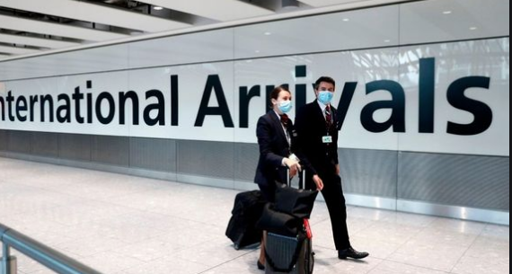 UK Travel Corridors Suspended – Arrivals to England must self isolate.