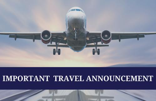 Travel Declaration Required